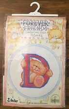 Forever Friends Cross Stitch Kit Forever Friends Alphabet FRC26 Anchor Coats New