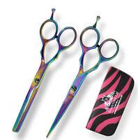 Hair Cutting Tools Salon Sharp Hairdressing Scissors Barber Thinning Scissor Set