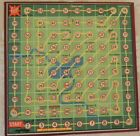 Vintage Fairylite Road Race Board game snakes and ladders