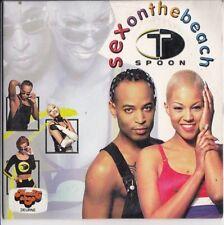 T SPOON Sex On The Beach 2 track CARDslv CD SINGLE EURODANCE