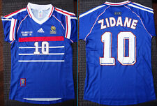 Taille S - Maillot France, 100% neuf, ZIDANE ! * Coupe du monde 98 1998 Football