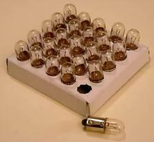 LOT DE 25 AMPOULES BAIONNETTE 6,3 V 0,15A - 1 WATT