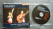 HANK MARVIN MARK KNOPFLER WONDERFUL LAND RARE 3 TRACK CD SINGLE EXC Jeff Lynne