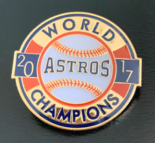 "2017 HOUSTON ASTROS WORLD SERIES CHAMPIONS PIN COLLECTIBLE  1.5"" MLB BASEBALL"