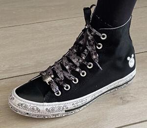Miley Cyrus Converse Chuck Taylor All-Star High Black 162234C