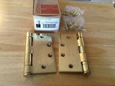 "Hager BB1279 Door Hinges 4.5"" X 4.5"" US3 (Lot of 2)"