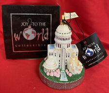 RARE! KOMOZJA Joy To The World ~ Washington DC Blown Glass Ornament IN BOX
