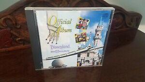 The Official Album Of Disneyland - Walt Disney World OOP Rare Music CD