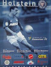 Programm 2004/05 KSV Holstein Kiel - Chemnitzer FC