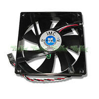 New JMC 9025-12HBTA Fan 4 Dell OptiPlex Precision PowerEdge + Rubber Mounts