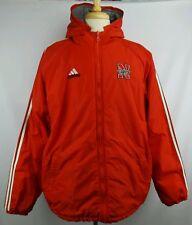 Vintage Adidas Nebraska Huskers Winter Puff Full Zip Reversible Jacket Size L