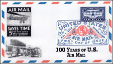 18-105, 2018, United States Air Mail, 100 Years, DCP, FDC