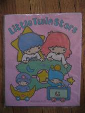 NWT Vtg Little Twin Stars LARGE Sticker 1976 New NIP Sanrio star baby moon puppy