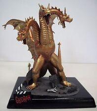 KING GHIDORAH Ghidrah AURORA Model Kit PRO BUILD-UP Rare GODZILLA Kaiju MINT!