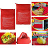Potato Express Microwave Baked Potato Cooking Cooker Washable Bag Useful Pocket