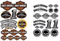 Harley Chopper Sportster Dyna Stickers Softail decals V-Rod Iron Glide 80 81