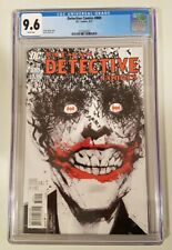 DETECTIVE COMICS #880 (2011 DC) CGC 9.6 WP *CLASSIC JOCK COVER*