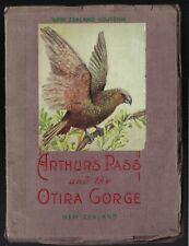 Arthur's Gorge and the Otira Gorge New Zealand Vintage Souvenir Booklet 1950's?