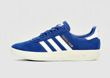 bnib Adidas Trimm Trab UK 9 Rivalry Pack blue white BD7628