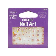 NAILENE FALSE NAIL ART FLOWER STICKER 71027 FOR FINGERS & TOES NAILS