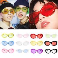 Women's Retro Round Sunglasses Classic Vintage Fashion Shades Eyewear Glasses