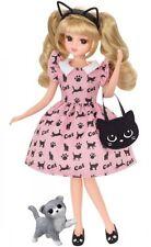 Takara Tomy Licca Doll Lovely Cat Dress (Doll Not Included)