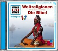 WAS IST WAS - FOLGE 32: WELTRELIGIONEN/DIE BIBEL  CD  KINDERHÖRSPIEL  NEU