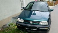 Schlachtfest VW Golf 3  GT Baujahr 1996