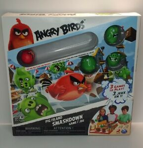Angry Birds Pig Island Smashdown Board Game 2016 NEW/SEALED SPINMASTER**