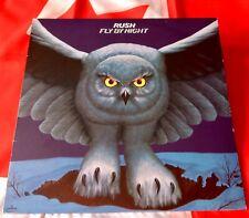 RUSH - FLY BY NIGHT -  I80 GRAM REMASTERED VINYL LP LYRIC INSERT + STICKER