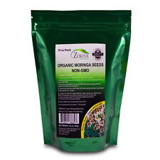 Moringa Seeds Organic Non-GMO Premium Quality 10 oz Pack In Resealable Pouch
