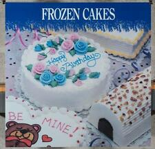Dairy Queen Promotional Poster For Backlit Menu Sign Frozen Cakes dq2