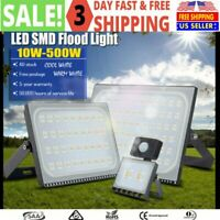 10W-500W Bright LED Flood Light Outdoor Garden Yard Spotlight Lamp Cool White US