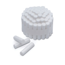 House Brand DI250 Non-Sterile Dental Cotton Rolls #2 2000/Bx