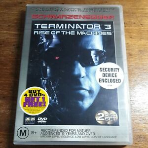 Terminator 3 RISE OF THE MACHINES DVD R4 Like New! FREE POST