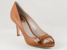 New  Christian Dior Beige Padlock Peep Toe Pumps 39.5 US 9.5