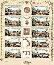 Austria 2627 posta freschi KB piccoli archi Ucraina 824 Lemberg MNH