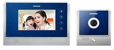 "Commax 7"" Hands-Free Video Phone & Indoor Camera Kit - Blue CDV-70U/DRC-4U"