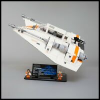 Acrylic Display Stand for LEGO™ Star Wars UCS Snowspeeder (75144)