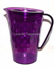 Tupperware  Ice Prisms Pitcher Purple 2 Quart