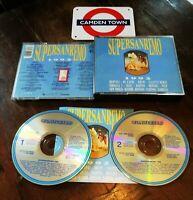 🔥Super Sanremo 1992 Bertoli/New Trolls/Ranieri/Faletti/Tazenda 2X Cd Perfetto
