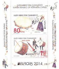 2014 Europa - Turkish Cyprus - souvenir sheet