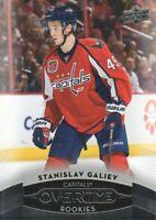 2015-16 Upper Deck Overtime Hockey #163 Stanislav Galiev RC Washington Capitals