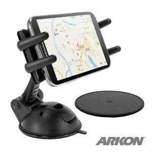 ARKON Car Dashboard Windshield iPhone/ SmartPhone Sticky Suction Cup Mount SM678