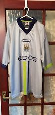 Manchester City 2000/02 away shirt size L Rare
