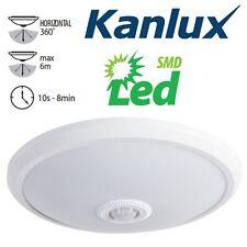 Kanlux FOGLER LED 14w PIR Motion Movement Sensor Wall Ceiling Light Fitting IP20