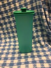 Tupperware Slim Line Pitcher 2QT Turquoise