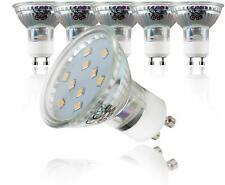 30 Stück B.K.Licht GU10 3W LED Lampen 250 Lumen – 3000K für warmweisses Licht