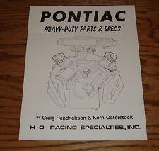 1955-1979 Pontiac Heavy-Duty Parts & Specifications Catalog 55-79