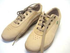 Easy Spirit Fitness Womans Leather Walking Shoes sz 9 Light Brown Color
